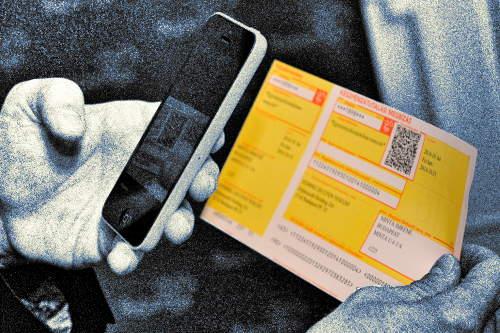 Sárga csekk befizetés mobillal