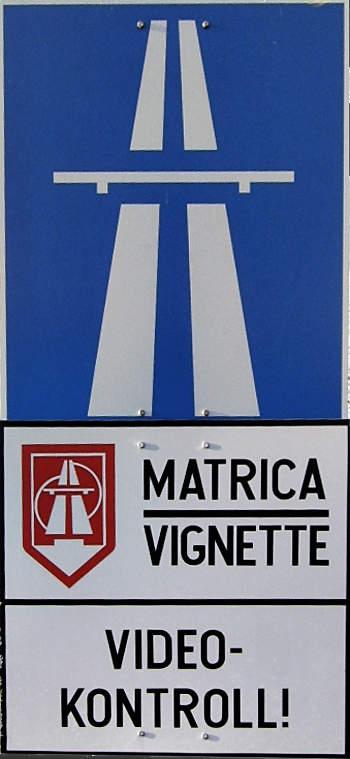 autópálya-matrica