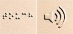 Okoskesztyűvel olvashatnak a vakok