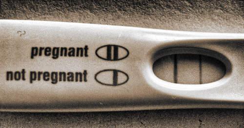 terhes-teszt