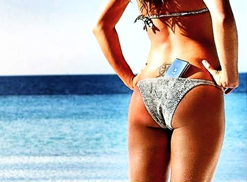 bikini-telefon
