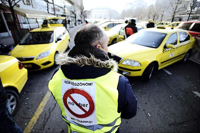 taxi-uber-blokad