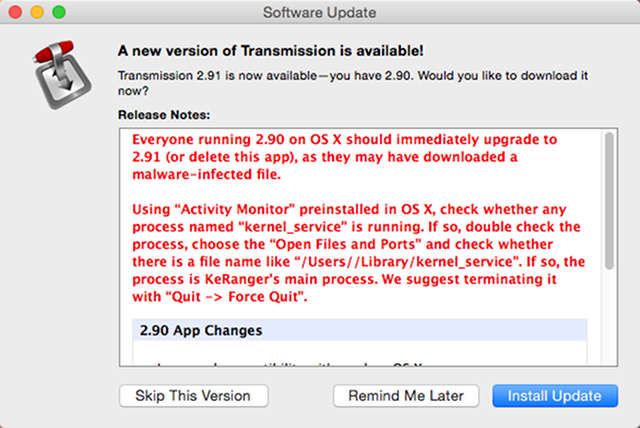 Apple-transmission-ransomware