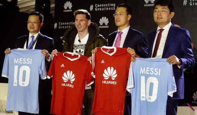 Huawei-Messi