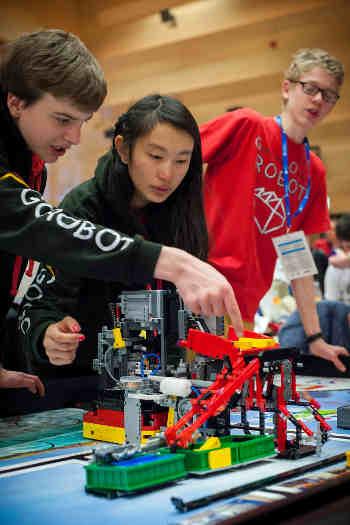 lego robot verseny
