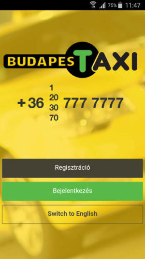 Budapest-taxi-app