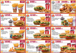 Burger-King kupon