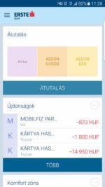 Itt az Erste MobilBank alkalmazása