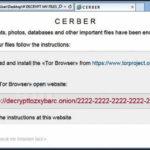 A Check Point fineszes kutatói feltárták a Cerber zsarolóvírus rendszerét
