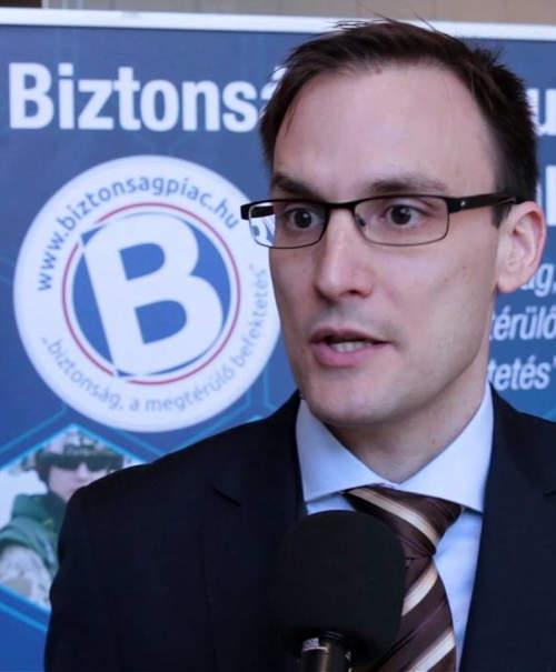 Bencsik Balázs, a Nemzeti Kibervédelmi Intézet (NKI) vezetője