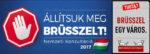 Deutsch: sikerült mágállítani Brüsszelt