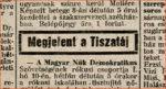 Elindult a hetvenéves Tiszatáj folyóirat online archívuma