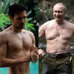 Putyin félmeztelenkedési hullámot indított