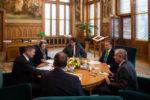 Orbán az Európai Bizottság digitális egységes piacért felelős alelnökével tárgyalt