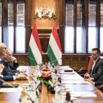 Orbán a Deutsche Telekom vezetőivel tárgyalt