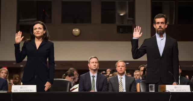 Sheryl Sandberg és Jack Dorsey