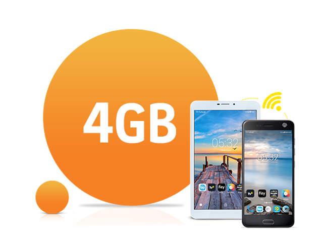 internet 4GB