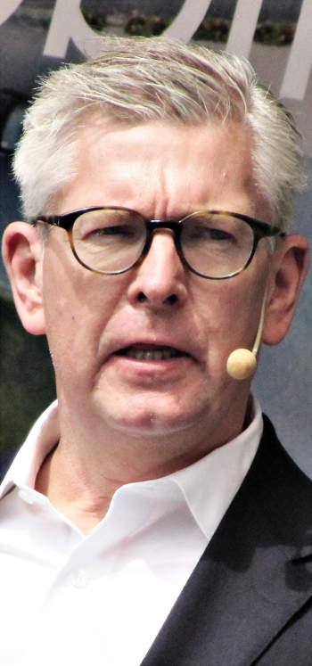 Börje Ekholm, az Ericsson elnök-vezérigazgatója