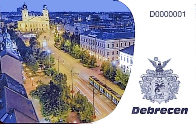 Debrecen-városkártya