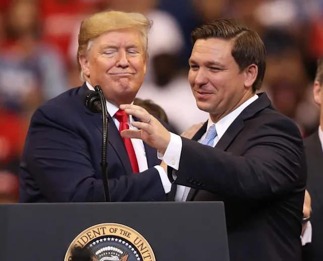 Trump és DeSantis