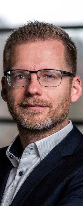 Erdélyi Márk, a Telenor vállalati kapcsolatok divízió vezérigazgató-helyettes