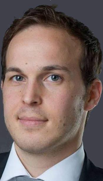 Fisher András, a programot koordináló OTP LAB, az OTP Bank innovációs központjának főosztályvezetője