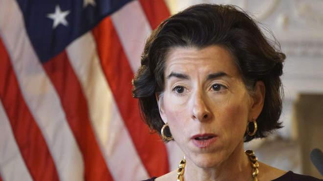 Gina Raimondo, az Egyesült Államok kereskedelmi minisztere