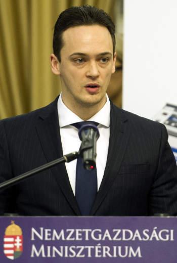 Greinstetter Balázs a Pénzügyminisztérium gazdaságfejlesztési programok végrehajtásáért felelős helyettes államtitkára