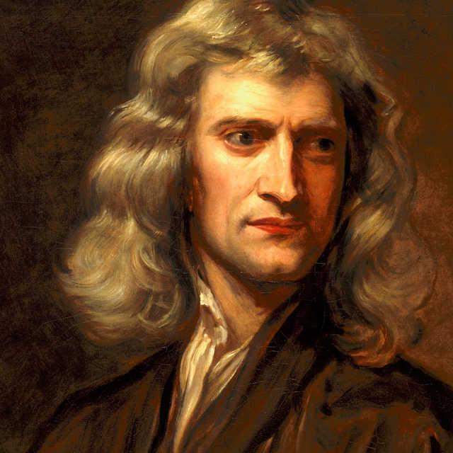 Isaac Newton angol fizikus, matematikus és csillagász