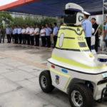 Rémes: robotjárőrök álltak szolgálatba egy kínai városban