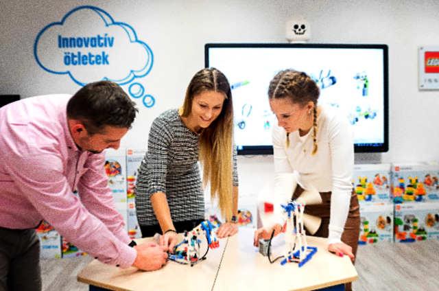 A Nyíregyházi Egyetemen található Közép-Kelet-Európa egyetlen LEGO Education Innovation Studio