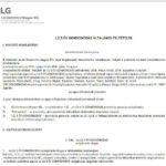 A GVH elfogadta az LG kötelezettségvállalását a fogyasztók tájékoztatására
