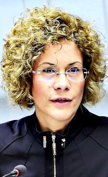 Lukács Eszter, a Széchenyi István Egyetem rektorhelyettese