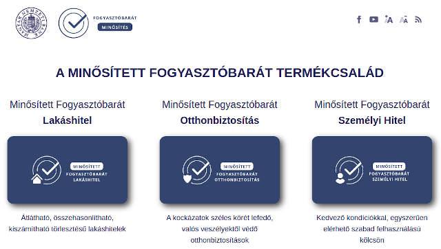 Magyar Nemzeti Bank kalkulátort indított a Minősített Fogyasztóbarát Otthonbiztosítások