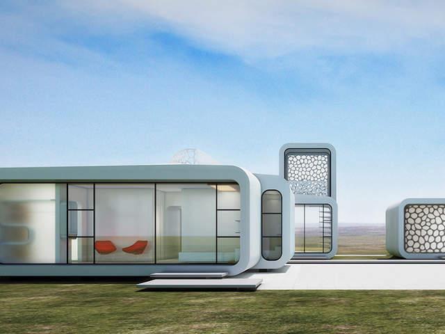 Mighty Buildings 3D nyomtatott ház