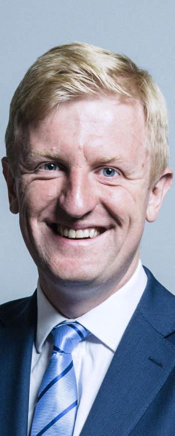 Oliver Dowden, a brit digitális fejlesztésért felelős minisztérium vezetője
