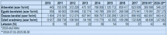 A Skoopy Kft. 2018-19-es eredményei: a forgalom enyhén, az eredmény durván csökkent.