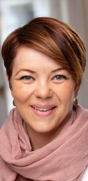 Sütő Ágnes, a Magyar Bankszövetség kommunikációs főtitkárhelyettese