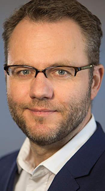 Udo Bub, az adesso Hungary ügyvezető igazgatója, az ELTE Informatikai karának intézetigazgató kutatóprofesszora
