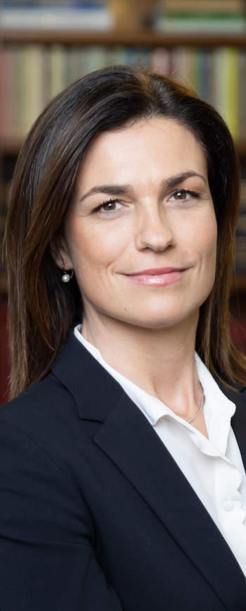 Varga Judit, az Igazságügyi miniszter
