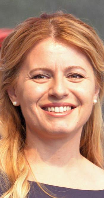 Zuzana Caputová államfő