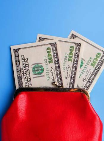 buksza, pénztárca, dollár, Telenor, wallet