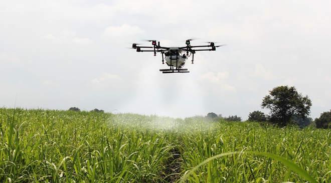 mezőgazdaság, agrárium. drón