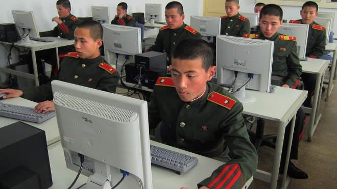 Észak-Korea, hacker