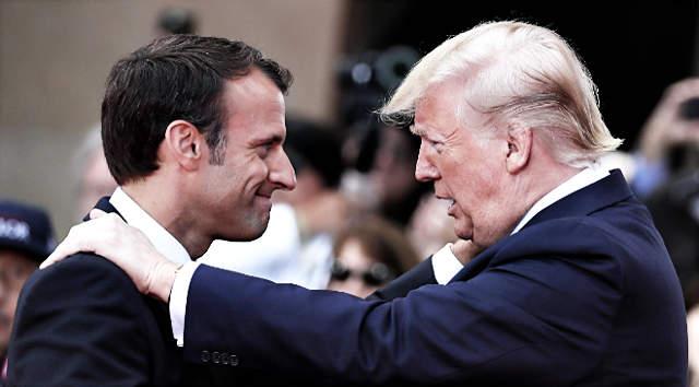 Macron és Trump